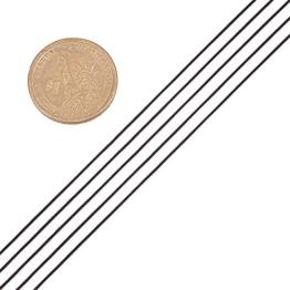 PandaHall 1 mm schwarz Nylonfaden schnur dahrt -